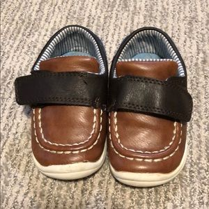Carters faux leather shoes